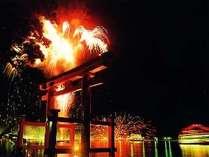 「芦ノ湖夏まつりウィーク」毎年7月31日~8月5日まで芦ノ湖周辺で祭事が催されます。