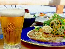 「いなか茶屋 山彩」のコラボプラン♪お食事の他にもドリンクやアルコールも豊富にそろえております。
