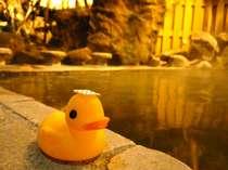 夜の露天風呂は静かにゆっくりと時が流れてゆきます。