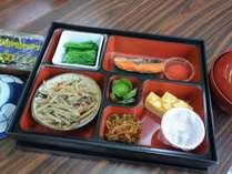 ◆朝食-和食のセットメニューをご用意しています。季節により内容は異なります。