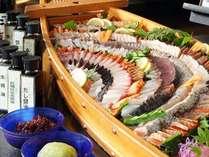 バイキング■お刺身と小豆島のお醤油達