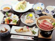新鮮な食材を使った季節に合わせた香嵐亭の定番地元料理が味わえます♪