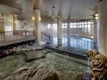 男性大浴場「パノラマ千人風呂」