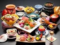 蒲郡名物『プリンセス御膳』 当館料理長の自信作!天然アカザエビや地産地消の食材が満載。
