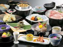 『竜城(たつき)』 三河の海幸山幸が満載!「三河秀麗豚コラーゲンスープ鍋」も人気です。(全15品程)