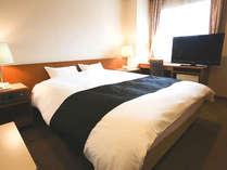 ダブルルーム【広さ:23平米~】キングサイズのベッドでゆったり!