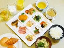 THE BREAKFAST アパホテル直営レストランの朝食
