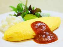 【朝食】実演オムレツ(毎日実施)具材は5種類(お好きな具材をお選びください)