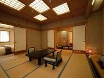 展望風呂付特別室「皇海」和室