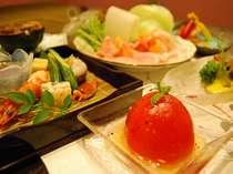 夏野菜料理一例