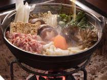 あわしま伝統の味「山賊鍋」