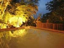 貸切露天風呂「竹林の湯」。ご宿泊の方は無料でご利用いただけます。