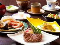 「黒田や」を代表する2大料理【豊後牛ステーキ&地獄蒸し】