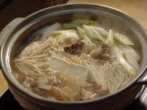 【冬季限定】名物!あったか猪鍋を味わえる☆グルメプラン
