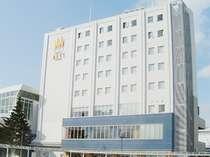 ホテルメッツ八戸の外観(正面右)