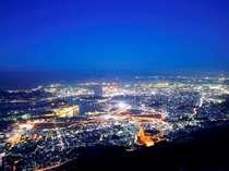 【皿倉山夜景】ホテルからJRご利用で10分+バスで5分