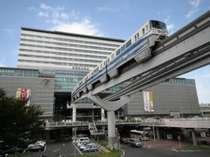 JR小倉駅から歩いて1分、モノレール小倉駅から歩いて2分