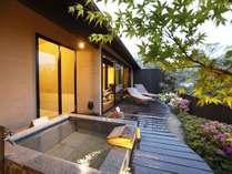 【蕪-かぶら】客室専用露天風呂