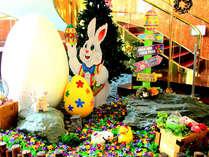【スプリングフェスタ】イースターカーニバル♪4月下旬より館内が色とりどりのお花やタマゴで大変身!