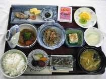 朝食(和食の一例)洋食も選択できます