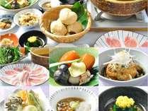 お料理イメージ※旬の新選な素材をご用意致します。四季により異なりますので、予めご了承下さい。