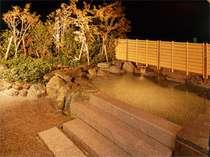 ○最上階にある和風庭園露天風呂