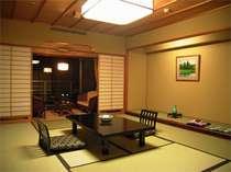 ≪臨水亭≫60平米の贅沢な和室