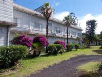*外観/人情味のある心オアシスな当ホテルで八丈島のご旅行をお楽しみください。