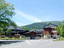 *【外観】比婆山を一望できる欧風のホテルです。オールシーズンお愉しみいただけます♪
