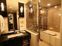 -エグゼクティブフロア・ツインBとダブルDのバスルーム