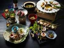 【夕食/春】和食会席一例