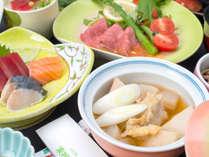 *[夕食一例]山形の郷土料理『芋煮』は通年でお召し上がり頂けます。
