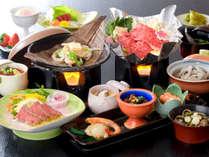 *[夕食一例]県内産の食材を中心に、郷土色豊かな料理をご提供致します。