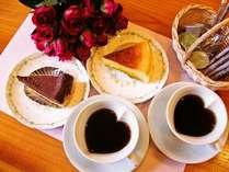 【記念日特典付】【夕食:部屋食】~和会席~ 特別な記念日に当館から自家製ケーキセットのプレゼント♪♪