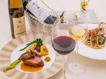 【エスカーレ】東シナ海を眺めながら洋食コース料理が楽しめる本格レストランです(イメージ)