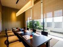 【日本料理 隨縁亭】特別なご会食や三世代旅行などにぴったりの個室もご用意(別途)