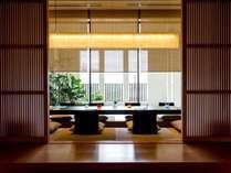 【日本料理 隨縁亭】小上がりの個室なら、プライベートな時間がお楽しみいただけます(別途)