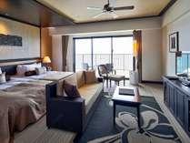 【コーナー(3~9F)】各フロアに1室づつ設けたコーナータイプの客室。角部屋ならではの眺望と広さが魅力