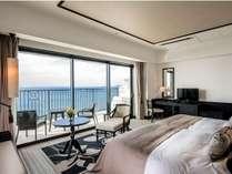 【デラックス(6~12F)】コロニアルデザインの色・形をモチーフにリゾート感のある素材を用いた客室