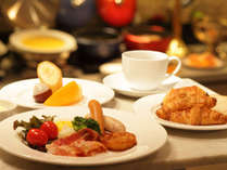【朝食】約40種類の和洋バイキング