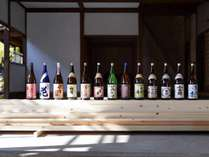 SAKU13☆佐久地域の13の酒蔵の若手経営者が共同で酒を作り上げる新ブランドです