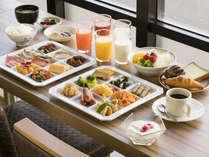 地産地消を取り入れた和洋バイキング朝食(朝6:30~9:30)