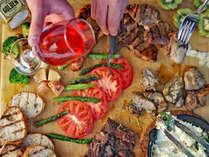 【スプラウトBBQ】ハーブ香るお肉や旬の野菜、相性ぴったりのマスタードとともに。