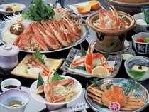 贅沢★つちやのカニ祭り★ひとりにつき蟹2.5杯プラン≪松葉ガニフルコースDX≫