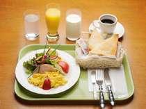 モーニングサービス例。軽めの朝食がお好みの方へ。