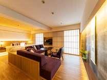 3月16日より新客室が誕生。『洗練されたモダンな和』をコンセプトに作られたゲストルーム。