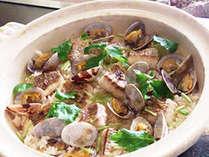 浅利と炊き込んだ「特製 土鍋鯛めし」