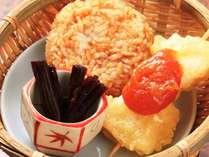 【夜食セット】秩父B級グルメ味噌ポテトと焼おにぎり(1人前350円)