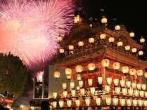 毎年12月2~3日は、秩父夜祭の開催日です!