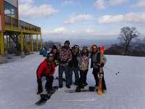 みんなで楽しく滑ります!(^o^)